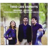 Brahms Piano Trio No.1, Dvorak Piano Trio No.4 : Trio Les Esprits