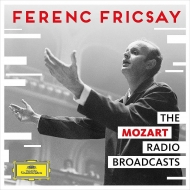 The Mozart Radio Broadcasts : Ferenc Fricsay / RIAS Symphony Orchestra, Danco, Streich (4CD)