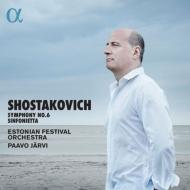 交響曲第6番、シンフォニエッタ パーヴォ・ヤルヴィ&エストニア祝祭管弦楽団(日本語解説付)