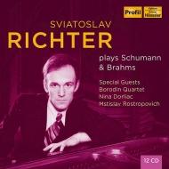 Sviatoslav Richter : Plays Schumann & Brahms 1948-1962 (12CD)