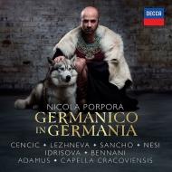 歌劇『ドイツのジェルマニコ』全曲 ヤン・トマシュ・アダムス&カペラ・クラコヴィエンシス、チェンチッチ、レージネヴァ、他(2016 ステレオ)(3CD)