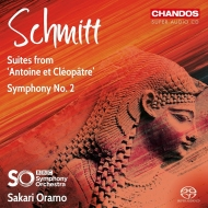 交響曲第2番、『アントニーとクレオパトラ』組曲第1番、第2番 サカリ・オラモ&BBC交響楽団