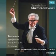 交響曲第3番『英雄』、第4番、第7番、序曲集 スタニスラフ・スクロヴァチェフスキ&NHK交響楽団(2004)(2CD)