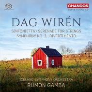 交響曲第3番、シンフォニエッタ、セレナード、ディヴェルティメント ラモン・ガンバ&アイスランド交響楽団