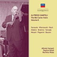 『ベル・カント・ヴァイオリン』Vol.6〜デッカへの最後の録音、日本での録音、他 アルフレード・カンポーリ(2CD)