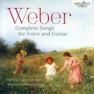 Comp.lieder For Voice & Guitar: Cigna(S)Sebastiani(G)