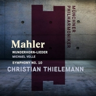 Symphony No.10 (Adagio)Des Knaben Wunderhorn(Selections): Christian Thielemann / Munich Philharmonic, Volle(Br)