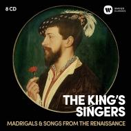 ルネサンス・マドリガーレ&歌曲集 キングズ・シンガーズ(8CD)