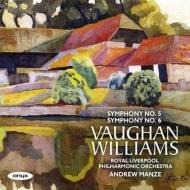 Symphonies Nos.5, 6 : Andrew Manze / Royal Liverpool Philharmonic