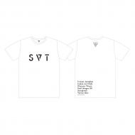 Tシャツ(M)[WHITE] / SEVENTEEN 2018 JAPAN ARENA TOUR 'SVT'