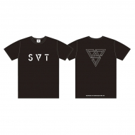 Tシャツ(M)[BLACK] / SEVENTEEN 2018 JAPAN ARENA TOUR 'SVT'