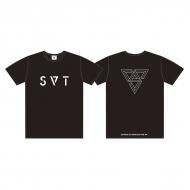 Tシャツ(L)[BLACK] / SEVENTEEN 2018 JAPAN ARENA TOUR 'SVT'