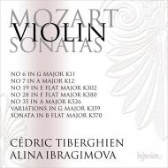 ヴァイオリン・ソナタ全集 第5集 アリーナ・イブラギモヴァ、セドリック・ティベルギアン(2CD)