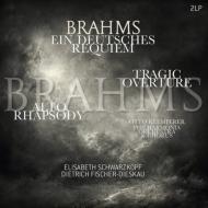 ドイツ・レクイエム クレンペラー&シュワルツコップ、ィッシャー=ディースカウ (2枚組/180グラム重量盤レコード)