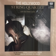 弦楽五重奏曲(シューベルト)、イタリア・セレナーデ(フーゴ・ヴォルフ):クルト・レーア(チェロ)、ハリウッド弦楽四重奏団 (180グラム重量盤レコード)