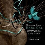 チェロ・コンチェルティーノ、無伴奏チェロ・ソナタ、無伴奏チェロ組曲 マシュー・シャープ、ケネス・ウッズ&イギリス交響楽団