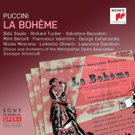 『ボエーム』全曲 ジュゼッペ・アントニチェッリ&メトロポリタン歌劇場、ビドゥ・サヤン、リチャード・タッカー、他(1947 モノラル)(2CD)