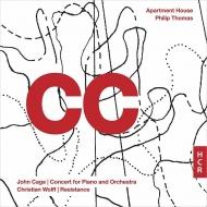 ジョン・ケージ:ピアノと管弦楽のためのコンサート、クリスティアン・ウルフ:レジスタンス アパートメント・ハウス(2CD)