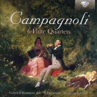 6つのフルート四重奏曲 アンサンブル・イル・デメトリオ