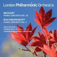 ラフマニノフ:ピアノ協奏曲第2番、モーツァルト:ピアノ協奏曲第20番 アルド・チッコリーニ、ヤニク・ネゼ=セガン&ロンドン・フィル