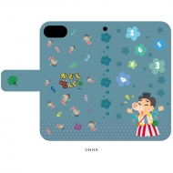 「かぞえてんぐ」01/イメージデザイン 手帳型スマホケース(iPhone6/6s/7/8兼用)