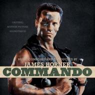 Commando (Black Face Paint Splatter Vinyl)