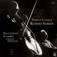 チェロソナタ全集:パブロ・カザルス(チェロ)、ルドルフ・ゼルキン(ピアノ)(2枚組/180グラム重量盤レコード/Vinyl Passion Classical)