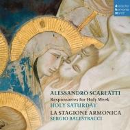 『聖週間−聖土曜日のためのレスポンソリウム』 ラ・スタジオーネ・アルモニカ