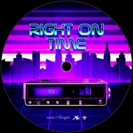 Right On Time (Vocal Version)/ Right On Time (Inst.Version)(7インチシングルレコード)