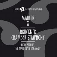 ブルックナー:弦楽五重奏曲(管弦楽版)、マーラー:交響曲第10番〜アダージョ ペーター・シュタンゲル&タッシェン・フィルハーモニー
