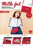 Milkfed.Ribbon Wallet Shoulder Bag Book