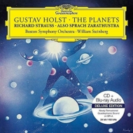 ホルスト:惑星、R.シュトラウス:ツァラトゥストラはかく語りき ウィリアム・スタインバーグ&ボストン交響楽団(+ブルーレイ・オーディオ)