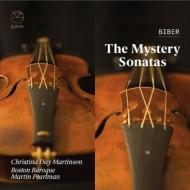 ビーバー(1644-1704)/Rosenkranz-sonaten: C.d.martinson(Vn) Pearlman / Boston Baroque