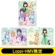クリアファイル (3枚1セット)/ ご注文はうさぎですか??【Loppi・HMV限定】
