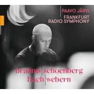 (Schoenberg)Brahms piano Quartet No.1, j.S.Bach Ricercar, Webern Langsamer Satz : Paavo Jarvi / Frankfurt Radio Symphony Orchestra