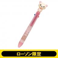 ローソン&リラックマゆらゆら3色ボールペン(コリラックマ)【ローソン限定】