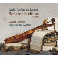 Lonati Carlo Ambrogio (1645?1710?)/Sonate Da Chiesa: Letzbor / Ars Antiqua Austria