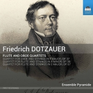 フルート四重奏曲集、オーボエ四重奏曲集 アンサンブル・ピラミッド