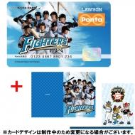 北海道日本ハムファイターズ×Pontaカード (A4クリアファイル2枚セット付)