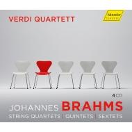 String Sextets Nos.1, 2, Quintets Nos.1, 2, Quartets Nos.1, 2, 3, Clarinet Quintet : Verdi Quartet, H.Voss(Va)Buck(Vc)F.Benda(Cl)(4CD)