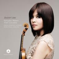 コルンゴルト:ヴァイオリン協奏曲、ニールセン:ヴァイオリン協奏曲 イ・ジユン、クリスティーナ・ポスカ&オーデンセ交響楽団