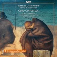 ゴルトシュミット:チェロ協奏曲、ライゼンシュタイン:チェロ協奏曲 ラファエル・ウォルフィッシュ、ニコラス・ミルトン&ベルリン・コンツェルトハウス管弦楽団