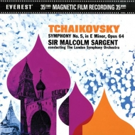 交響曲第5番 サージェント&ロンドン交響楽団 (2枚組アナログレコード)