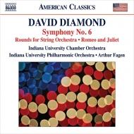 交響曲第6番、ラウンズ、『ロメオとジュリエット』のための音楽 アーサー・フェイゲン&インディアナ大学フィル、インディアナ大学室内管弦楽団