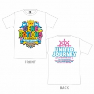 GENERATIONS 1st DOME TOUR Tシャツ  WHITE  M  UNITED JOURNEY
