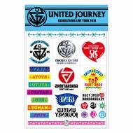 United Journey タトゥーシール