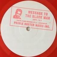 Message To The Black Man Chapter 1 & 2 (10インチシングルレコード)