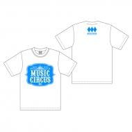 Tシャツ クラシックロゴ WHITE(XL)/ MUSIC CIRCUS'18