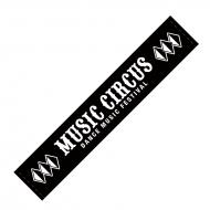 マフラータオル BLACK / MUSIC CIRCUS'18