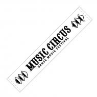 マフラータオル WHITE / MUSIC CIRCUS'18